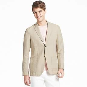 Uniqlo Men's Linen Cotton Slim-fit Jacket