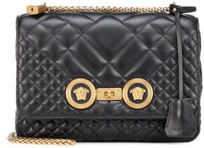 Versace Icon quilted leather shoulder bag