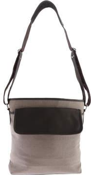 Piel Leather Front Flap Shoulder Bag 3062