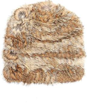 Hat Attack WOMEN'S FUR SLOUCHY HAT