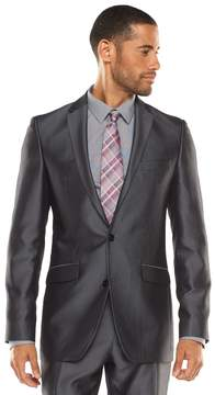 Apt. 9 Men's Extra-Slim Herringbone Gray Suit Jacket