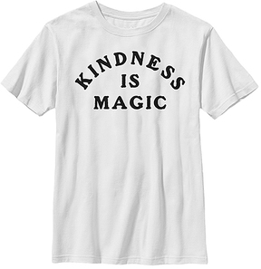 Fifth Sun White 'Kindness Is Magic' Crewneck Tee - Youth