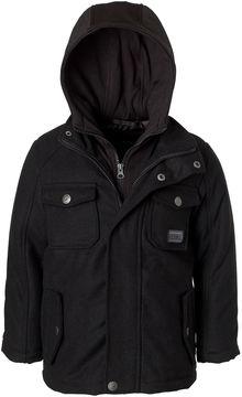 iXtreme Wool Jacket with Fleece Hood - Boys Preschool