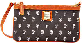Dooney & Bourke MLB Giants Large Slim Wristlet