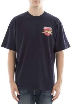 Edwin Blue Cotton T-shirt