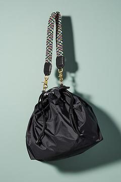 Clare V. Leather Supreme Drawstring Tote Bag