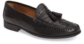 Johnston & Murphy Men's Cresswell Woven Tassel Loafer