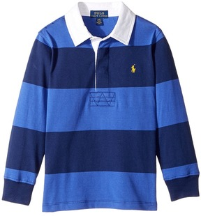 Polo Ralph Lauren Kids - Striped Cotton Rugby Shirt Boy's Clothing