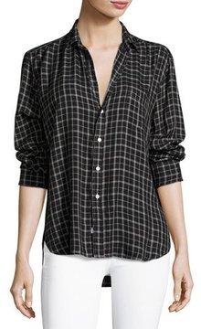 Frank And Eileen Eileen Button-Front Check Shirt