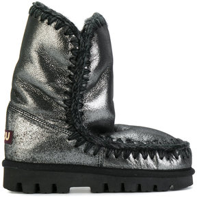 Mou metallic winter boots