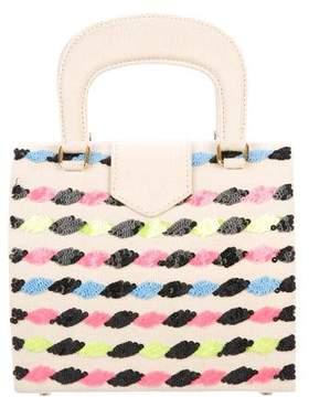 Olympia Le-Tan Embellished Mini Crossbody Bag