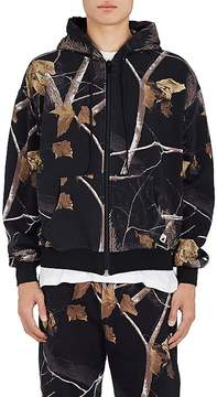 Alexander Wang Men's Winter Camo-Print Cotton Hoodie