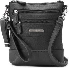 Co Stone & Nancy Leather 3-Bagger Convertible Crossbody Bag