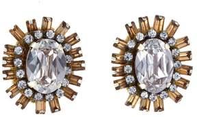 Deepa Gurnani deepa by Arie Spoke Stud Earrings