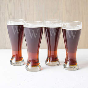 Accessories Cathy's Concepts Set of 4 Engravable Pilsner Glasses