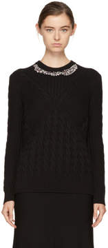 Erdem Black Elsie Sweater