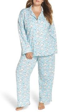 BedHead Plus Size Women's Polar Bear Print Pajamas