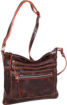 Nino Bossi Florence Leather Cross Body Bag (Women's)