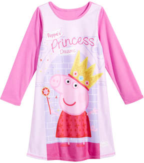 Peppa Pig Reversible Nightgown, Toddler Girls (2T-5T)