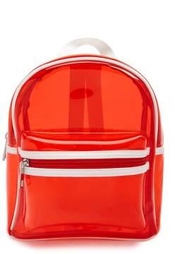 Forever 21 Structured Vinyl Backpack