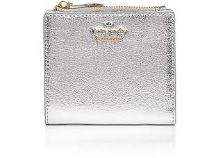 Kate Spade Adalyn Leather Wallet - PLATINO/GOLD - STYLE