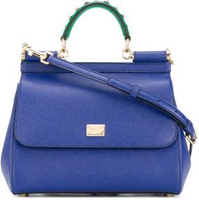 Dolce & Gabbana Sicily shoulder bag - BLUE - STYLE