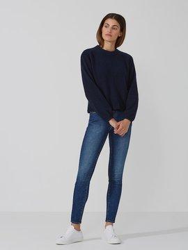 Frank and Oak Dolman-Sleeve Sweater in Dark Sapphire