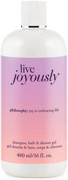 Philosophy Live Joyously Shower Gel, 16 Oz