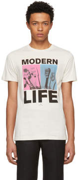 Paul Smith Beige Modern Life T-Shirt