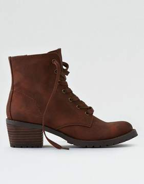 American Eagle Outfitters AE Lace-Up Lug Bootie
