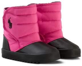 Ralph Lauren Pink Gabriel II Snow Boots