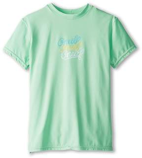 O Skins S/S Rash Tee (Little Kids/Big Kids)