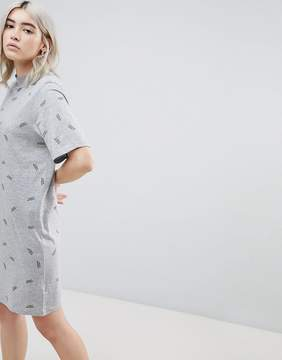 Cheap Monday Smash Print T-Shirt Dress