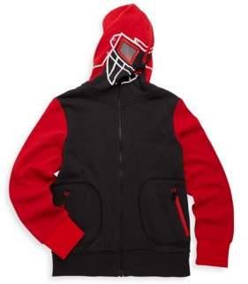 Stella McCartney Little Boy's & Boy's Masked Hoodie Cotton Sweater