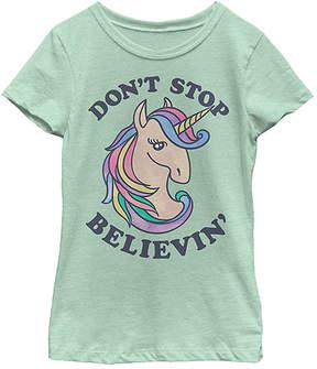Fifth Sun Mint 'Don't Stop Believin'' Tee - Girls
