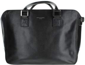 Aspinal of London Black Leather Handbag
