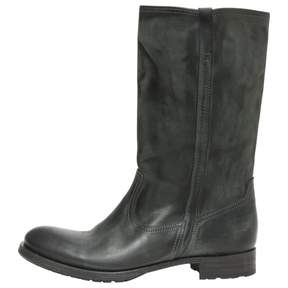 N.D.C. Made By Hand Grey Leather Boots