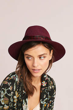 Anthropologie Feathered Rancher
