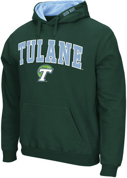 Colosseum Men's Tulane Green Wave Arch Logo Hoodie