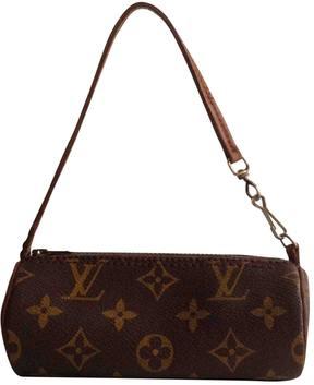 Louis Vuitton Papillon leather handbag - BROWN - STYLE