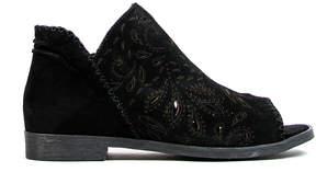 Coolway Black Jasper Suede Sandal - Women