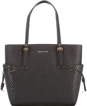 MICHAEL Michael Kors Voyager East/West Tote - BLACK - STYLE