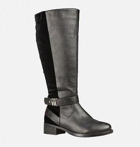Avenue Mapleton Velvet Trim Tall Boot