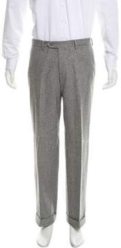 Luciano Barbera Cropped Wool Pants