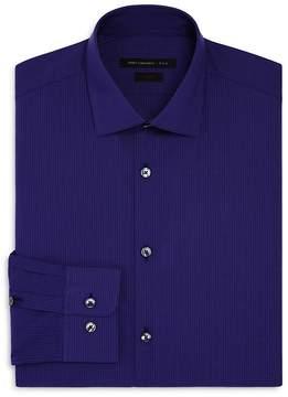 John Varvatos Mirco Windowpane Slim Fit Stretch Dress Shirt