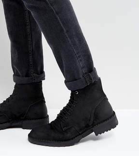 Diesel Pitt Leather Lace Up Boots