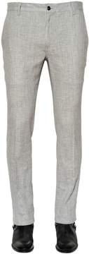 John Varvatos Stretch Linen Canvas Pants