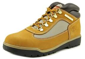 Timberland Field Boot Youth Round Toe Leather Yellow Work Boot.