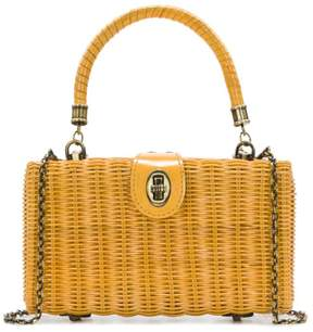 Patricia Nash Ayora Wicker Frame Bag