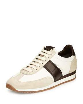 Tom Ford Orford Colorblock Trainer Sneaker, Brown